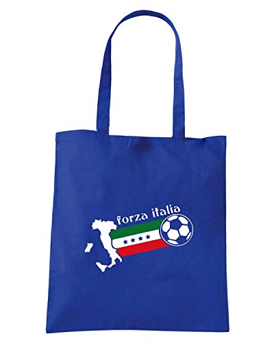 T-Shirtshock - Borsa Shopping WC0082 ITALIA ITALY Blu Royal