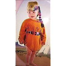 a57574a68a3e8 FIESTA   PARTY Costume di Carnevale Vestito Indiana INDIANINA Bambina Anni  3 4 Pocahontas