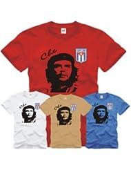 Che Guevara T-Shirt mit gesticktem Cuba Wappen S-XXL S-XXL