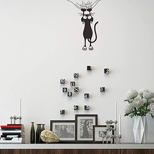 Wandaufkleber Cartoon Kletterwand Katze Wohnzimmer Hintergrund Wasserdichte Aufkleber Diy Home Decoration Abnehmbare Schlafzimmer Pvc