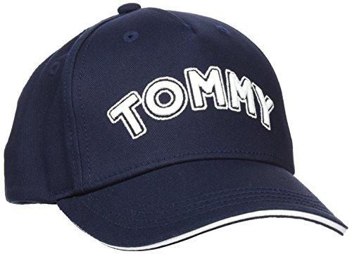 Tommy Hilfiger Baby Unisex Tommy Cap Kappe, Blau Navy 413, L (Herstellergröße: L-XL)
