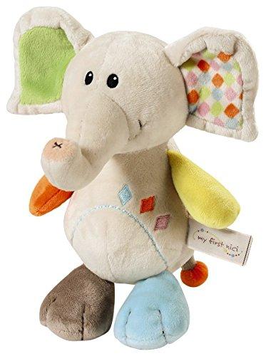Nici 39703 Schmusetier Elefant Dundi, 25 cm