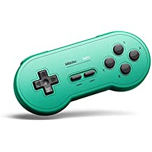 Gam3Gear 8bitdo SN30 GP Verde Edition Controller Bluetooth inalámbrico Gamepad para Nintendo Switch, Windows, Android, macOS, Steam con Llavero Gratis