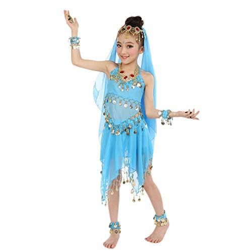 Ägypten Outfit - BaZhaHei Kinder Mädchen Bauchtanz Outfit Kostüm