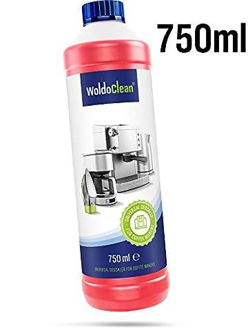 WoldoClean Entkalker für Kaffeevollautomaten 750ml universell einsetzbar