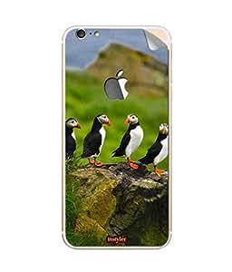 djimpex MOBILE STICKER FOR APPLE I PHONE 6S PLUS (LOGO)