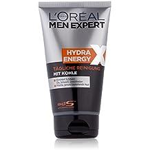 L'oréal men expert - Hydra energetic xtreme, gel limpiador carbón magnético, 150 ml