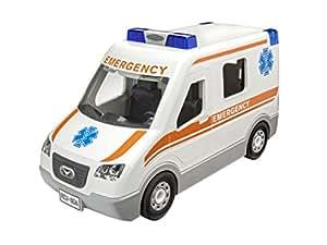 revell 00806 junior kit krankenwagen auto modellbausatz f r kinder zum schrauben robust zum. Black Bedroom Furniture Sets. Home Design Ideas
