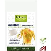 Preisvergleich für Balanox™ menthol+ Wirkstoff-Pflaster | Sportpflaster für Nacken, Schulter, Rücken, Glieder | wohltuend bei Verspannungen...