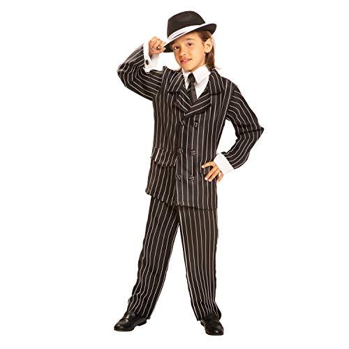 My Other Me Gangster-Kostüm für Mädchen, Gr. 3-4Jahre (viving Costumes mom00497) 7-9 años (Gangster Kostüm Mädchen)