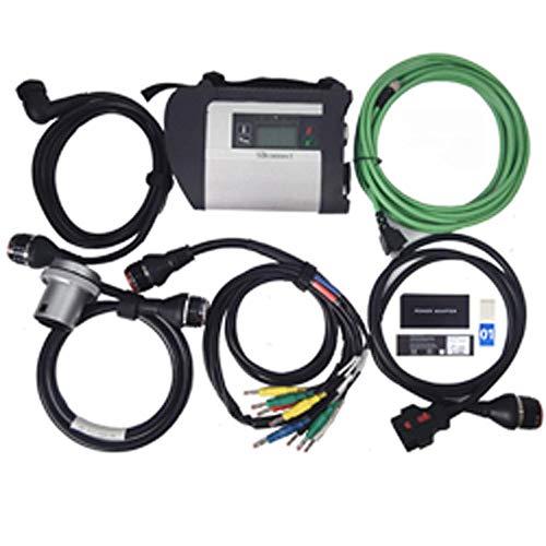 Preisvergleich Produktbild Hadeyicar Komplette Chipqualität MB Star C4 MB SD-Anschluss Compact 4-Tool Diagnose ForBENz PKW und LKW mit Software 05 / 2019 HDD