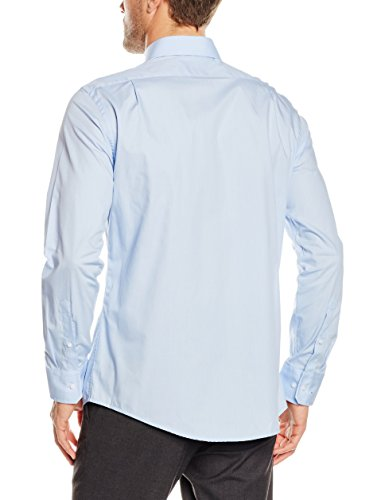 Redford Herren Business Hemd Regular Fit Blau (bleu 13)