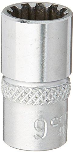 CAROLUS 4180.090 Steckschlüsseleinsatz 1/4″ Spline 9 mm