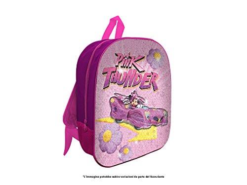 MC Zaino 3d Con Pailettes Minnie Per Asilo E Tempo Libero Zainetto per bambini, 32 cm, rosa