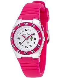 Cactus CAC-75-M55 - Reloj de pulsera niños, Plástico, color Rosa