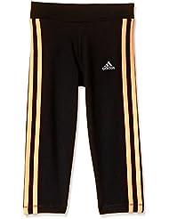 adidas - Medias deportivas - para niña, color schwarz/koralle, tamaño 15 años (164 cm)