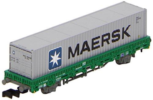 arnold-hn6253-modelisme-ferroviaire-wagon-plat-type-rlmms-avec-conteneur-maersk-renfe