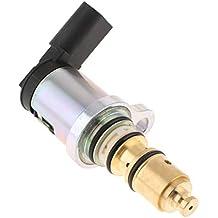 MagiDeal Válvula Solenoide Eléctrica Control de Compresor de Aire Acondicionado para Coche