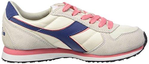 Diadora K_Run, Scarpe da Corsa Unisex Adulto Multicolore (C6089 Grigio Vaporoso/Rosa Salmone)