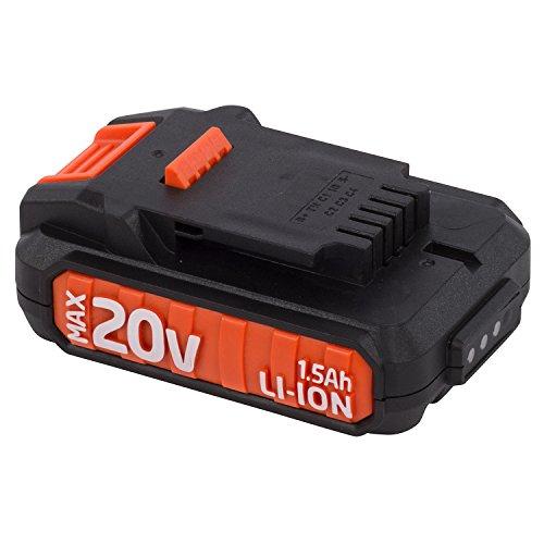 Preisvergleich Produktbild Dual Power Akku 20 V Li-Ion 1.5 Ah aufladbarer Akku Lithium Ionen Batterie