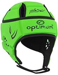Optimum Hedweb Classic de cabeza para hombre, color verde fluorescente/negro, pequeño