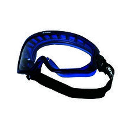 65e8955f28 Bollé BLAPSI Blast gafas, antiarañazos y antiniebla, Azul Marco de PVC, con  ventilación y transparente PC