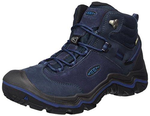 Keen Schuhe Für Männer (Keen Herren Wanderer Mid WP Trekking-& Wanderstiefel, Blau (Dark Sea/Night Dark Sea/Night), 43 EU)