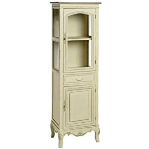 shabby chic bathroom cabinet furniture shabby chic style country display cabinet with 25950