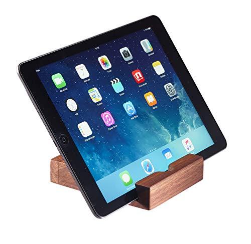 tänder I iPad-Dockingstation I Tablet Halter I iPad Dock aus Holz amerikanisches Nussbaumholz handgefertigt ()