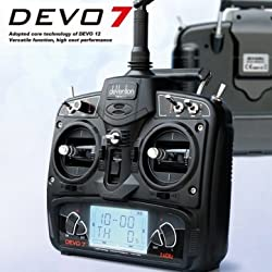 Souked Alta calidad Walkera DEVO 7 2.4GHz 7 canales transmisor Devention Sin Receptor