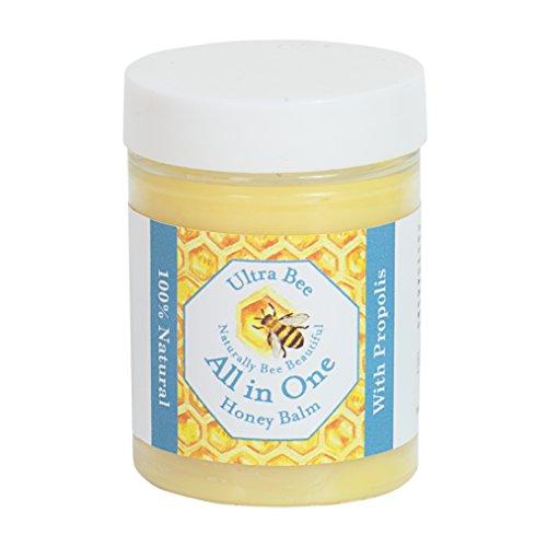 100% Naturell - Alles In Einem Honig Heilbalsam mit Propolis - Multifunktionaler Balsam, Hautreizung, Feuchtigkeitsspender für sehr...