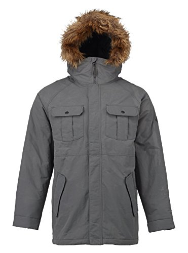 Burton Herren Landgrove Jacket Jacke, Faded, L (Burton Jacken Insulated)