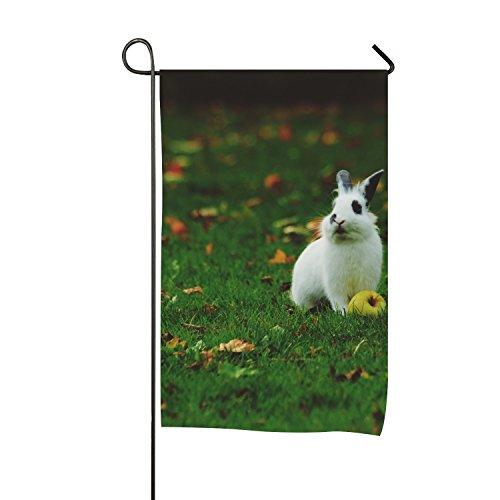 BESTAS Custom Home Jardin Drapeau Yellow Dog Long Jardin Drapeau Bannière 30,5 x 45,7 cm 28\
