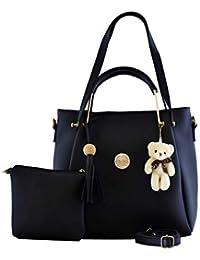 Le Platinum Women's Handbag With Sling Bag (Set of 2)