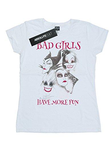 Disney Mujer Bad Girls Have More Fun Camiseta