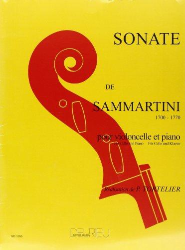 Sonate en sol majeur pour violoncelle et piano
