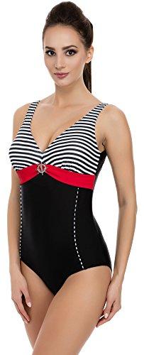 - Roten Badeanzug Kostüm