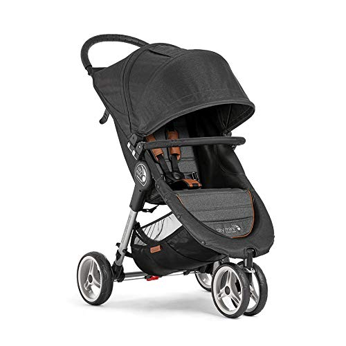 019bcf0e4 Cochecito Baby Jogger City Mini 3 Décimo Aniversario BJ2051654 con barra  delantera incluida y sistema de