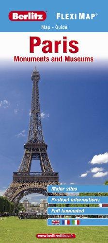 PARIS MONUMENTS ANGLAIS FLEXI MAP