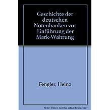 Geschichte der deutschen Notenbanken vor Einführung der Mark-Währung