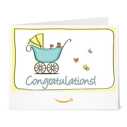 Congratulations! (Baby) - Printable Amazon.co.uk Gift Voucher