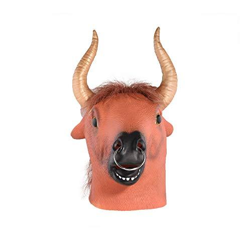 Maske YN Tiermaske Hood Horse Lustige Live Performance Tanzparty Horrormaske Weihnachtsrequisiten
