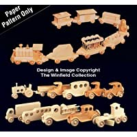 Wooden Vehicles Pattern Set by Winfield Collection