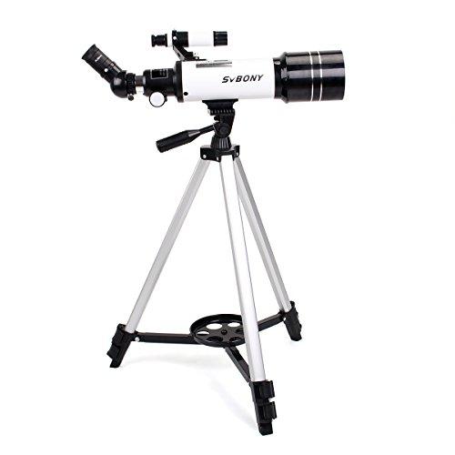 Svbony SV35 Telescopio Refractor Astronómico 400/70mm con Trípode de...