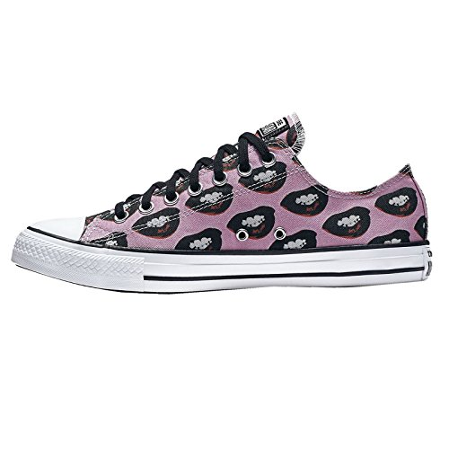 Converse Womens CTAS Marlyn Monroe Textile Trainers Multicolore