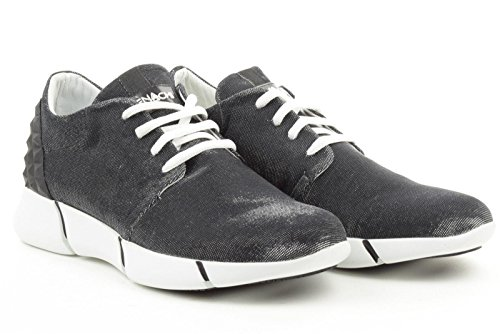 ELENA IACHI donna sneakers basse CALU odeon nero 38 Nero-Bianco
