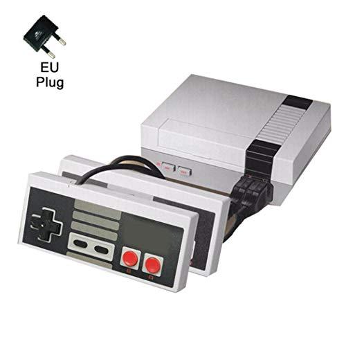Kuerli Spielekonsole, Retro, tragbar, 620 Klassische Spiele, integrierte Videospiele, 2 Controller, für Ausgang Dual AV HD