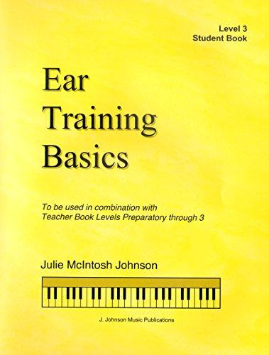 ETB3 - Ear Training Basics Student Book Book/CD - Level 3 - Julie Johnson