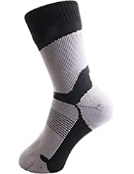 ArcticDry Xtreme 100% Waterproof Socks for Men, Women & Children - Nylon, Spandex & Coolmax Waterproof Material - Perfect for Cycling, Hiking, Golf, Rowing, Fishing & More!