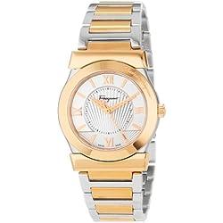 Salvatore Ferragamo Women's FI1010013 Vega Gold Ion-Plated Watch